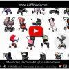 Motor ayuda paseo silla de bebe xiao tian HoverPusher AidWheels