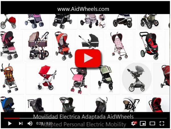 Ayuda electrica paseo carrito bebe Inglesina HoverPusher AidWheels