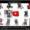 Asistente electrico motor silla de bebe LLX HoverPusher AidWheels