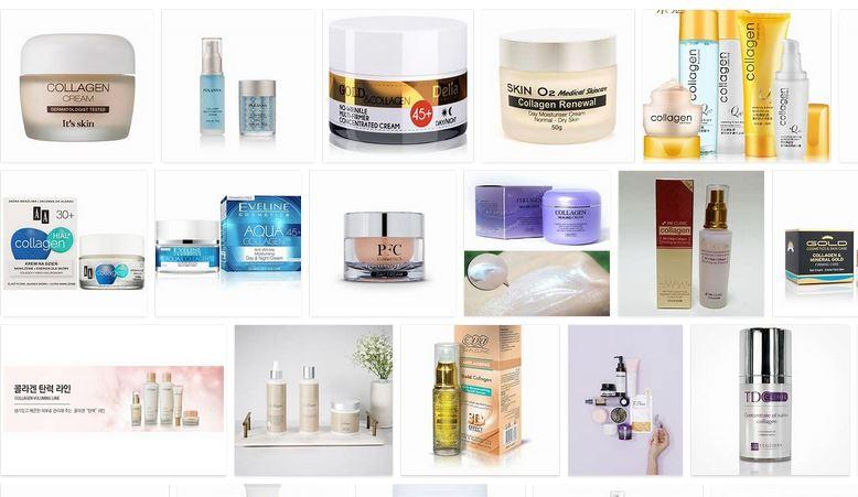 colageno para la piel en cosmeticos