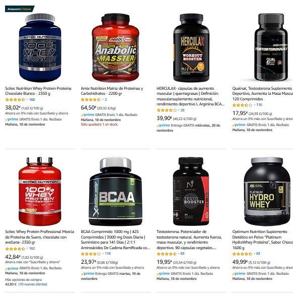 Mejor suplemento para ganar masa muscular