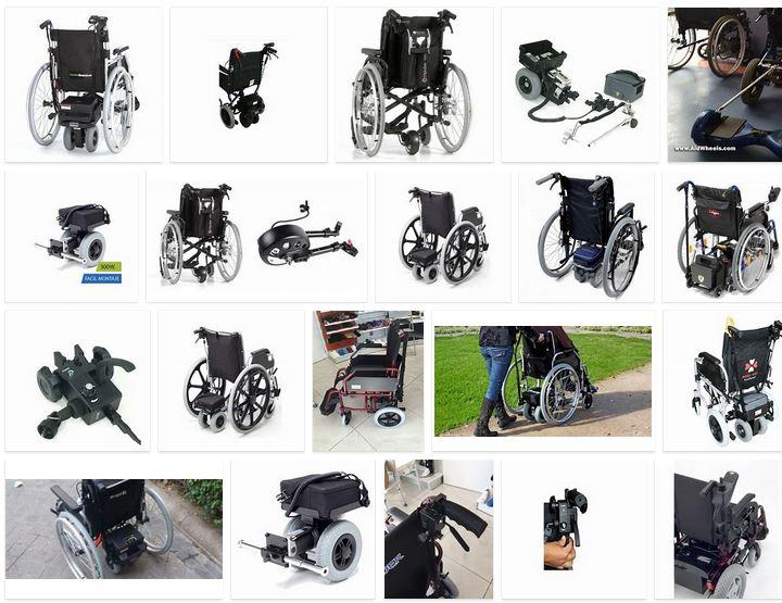 Motor acompañante silla de ruedas
