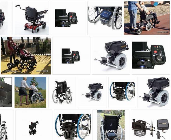Motor ayuda acompañante silla de ruedas