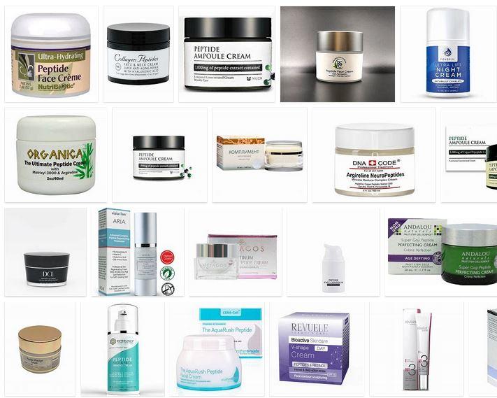 crema antiarrugas con peptidos
