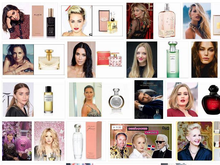 diseñadores de perfumes