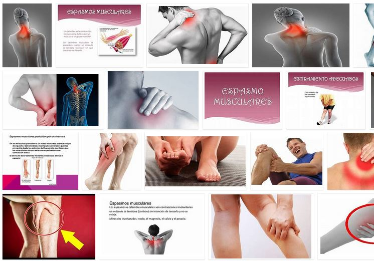 espasmos musculares remedios