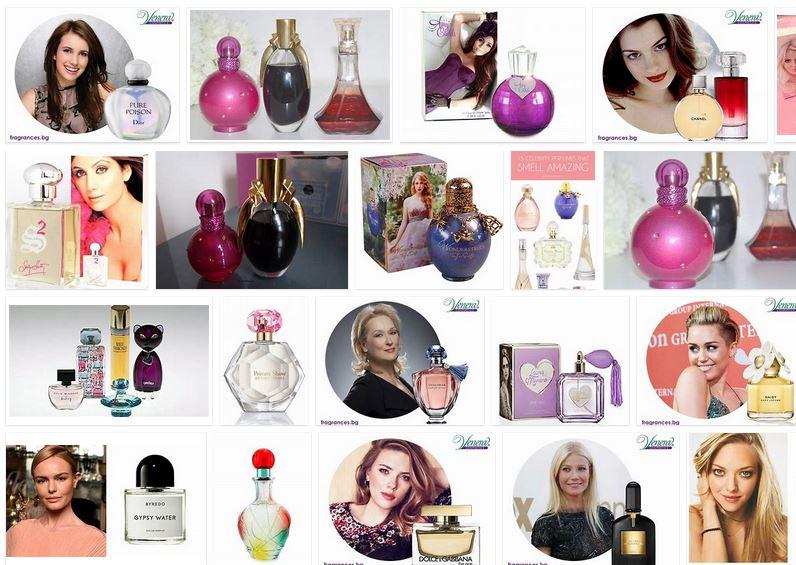 mejores perfumes de las famosas