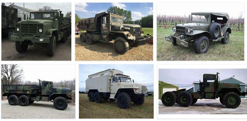 vehiculos militares en venta