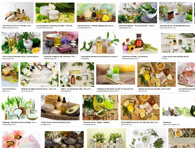 Cosmeticos y productos eficaces contra el envejecimiento natural