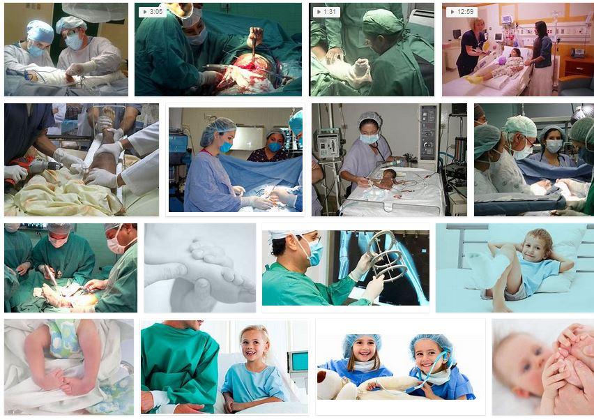 Elegir un buen medico Cirujanos ortopedicos pediatricos