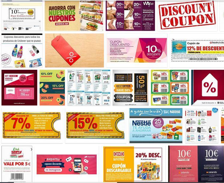 cupones descuento gratis primeras marcas regalo