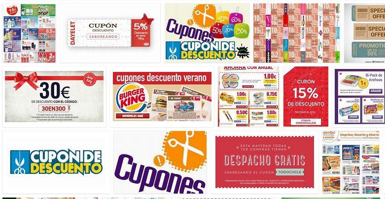 cupones descuento gratis primeras marcas