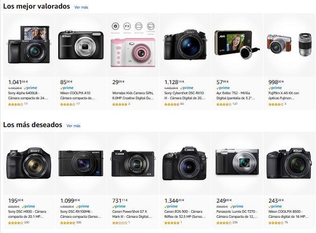 mejores camaras digitales compactas