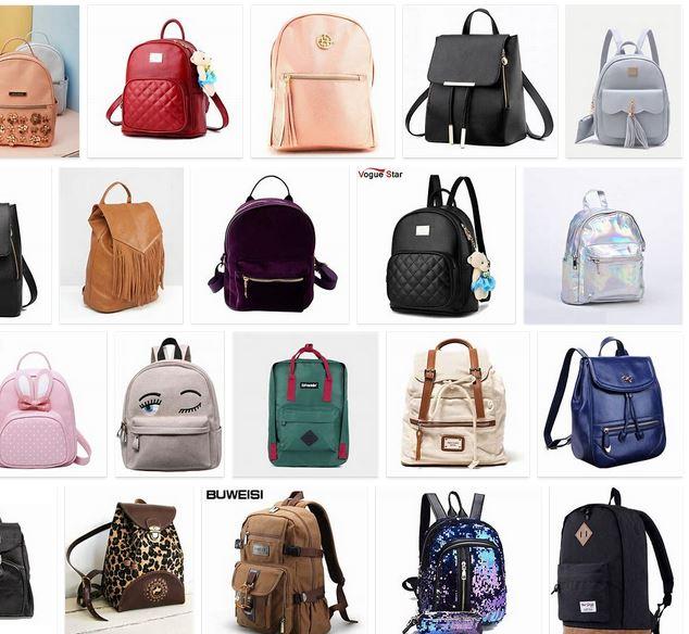 mochilas que se llevan