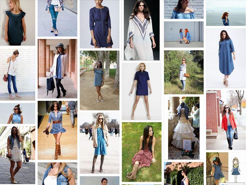 blog de moda vestidos vaqueros