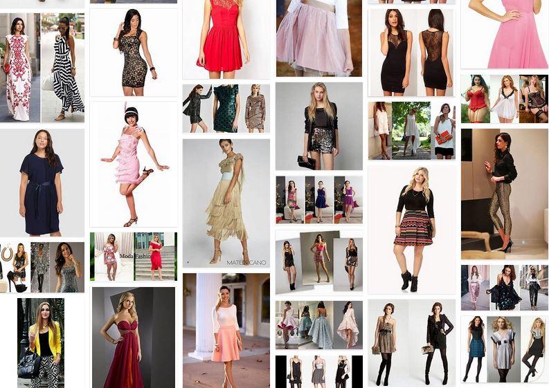 Blog fotos vestidos fin de año para mujer que...