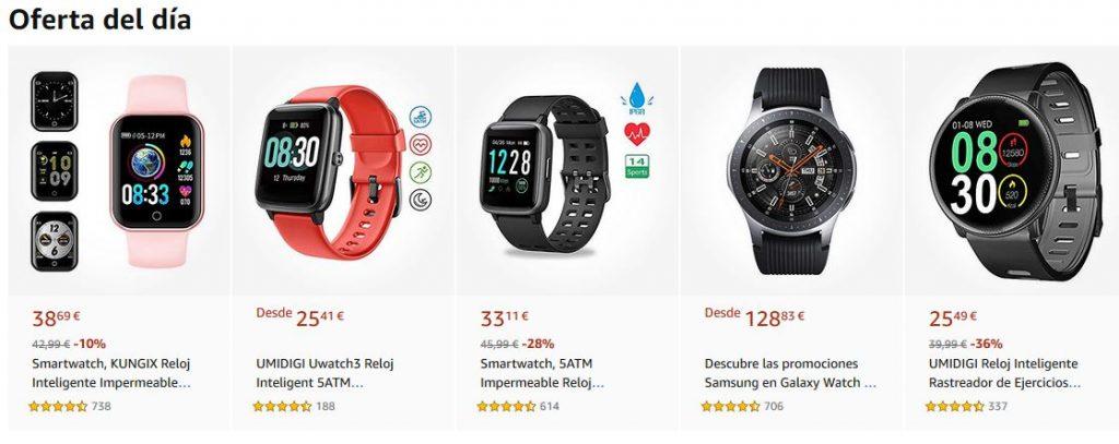 mejor smartwatch opiniones