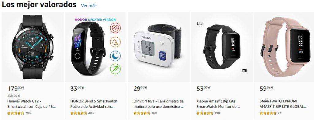 smartwatch los mas valorados