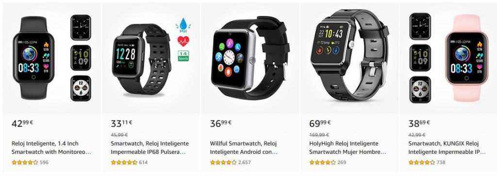 smartwatches opiniones