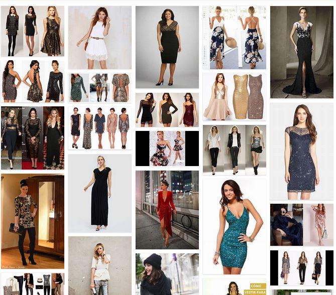 vestidos fiesta fin de año mujer blog