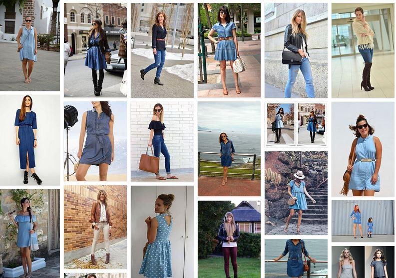 vestidos vaqueros moda blog