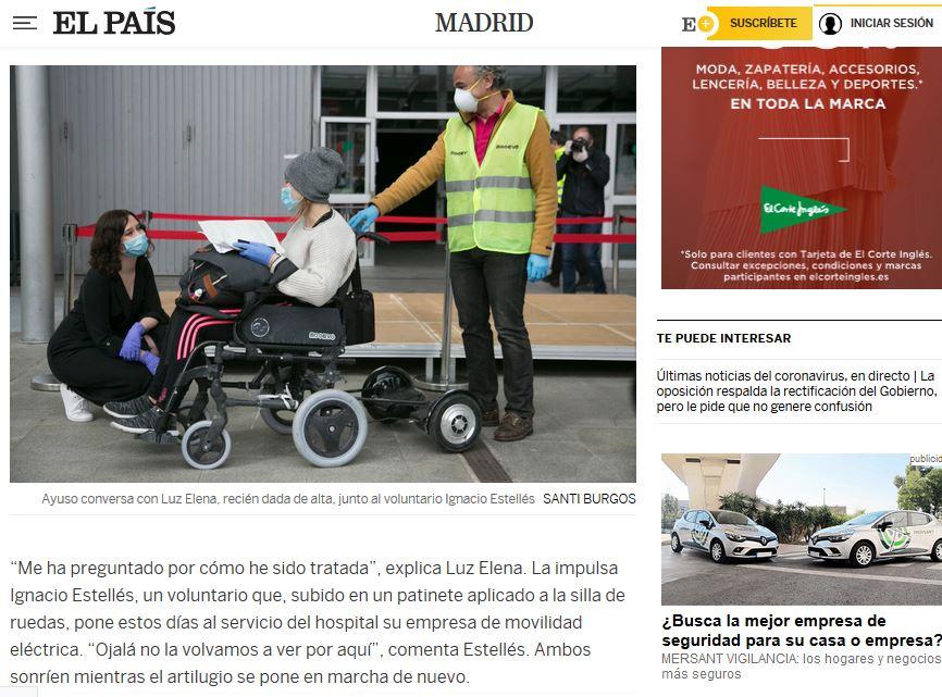 sillas de ruedas patinetes electricos ifema monopatin