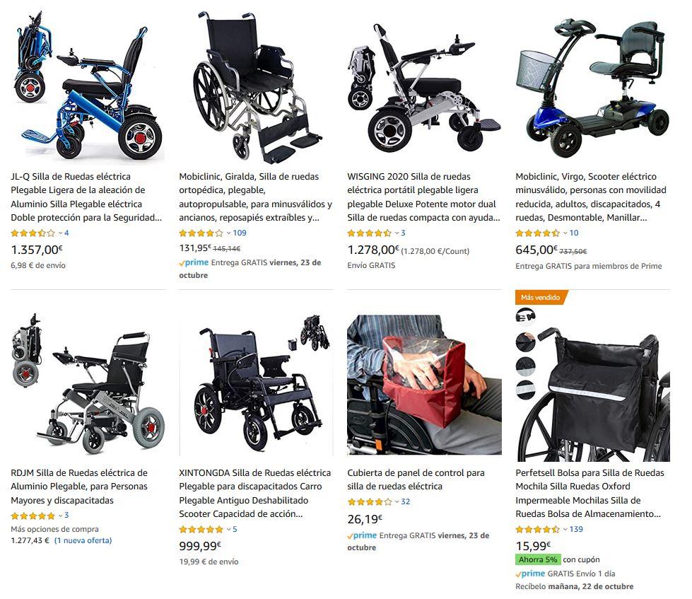 mooevo sillas de ruedas electricas