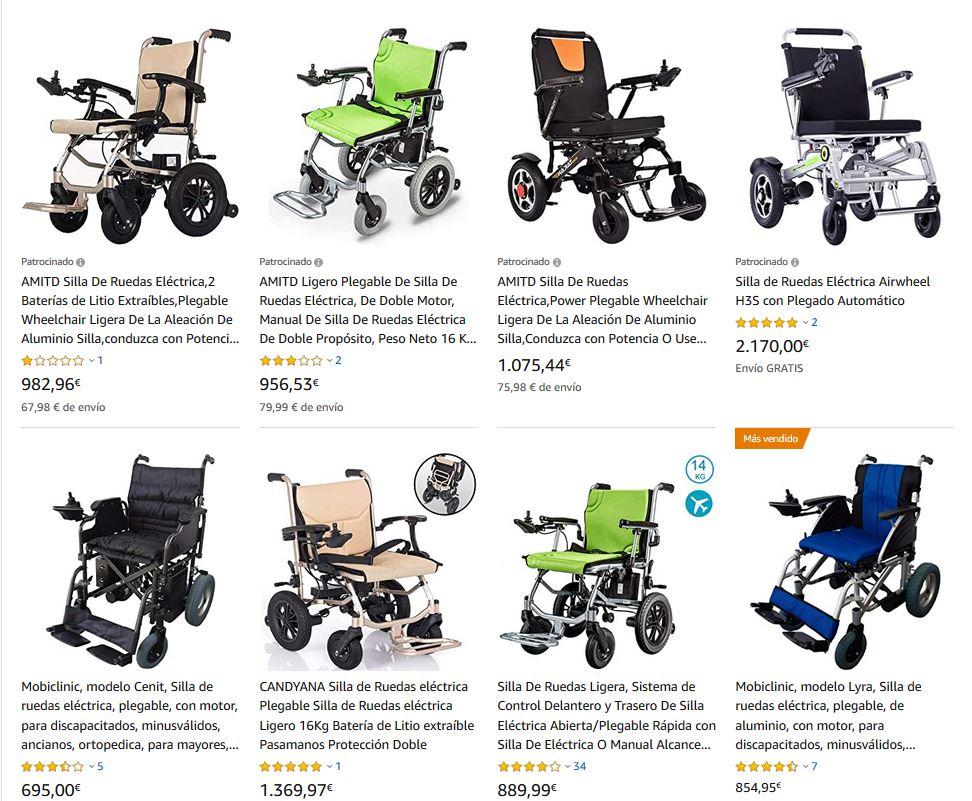 sillas de ruedas electricas mooevo