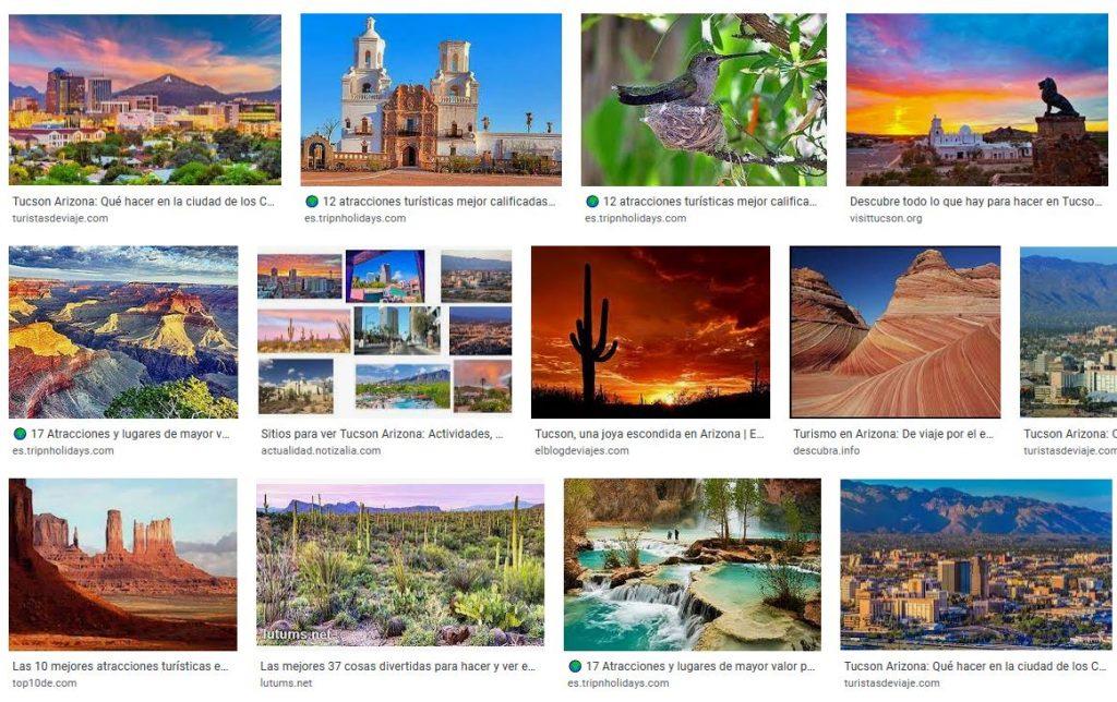 Atracciones Turisticas en Tucson Arizona