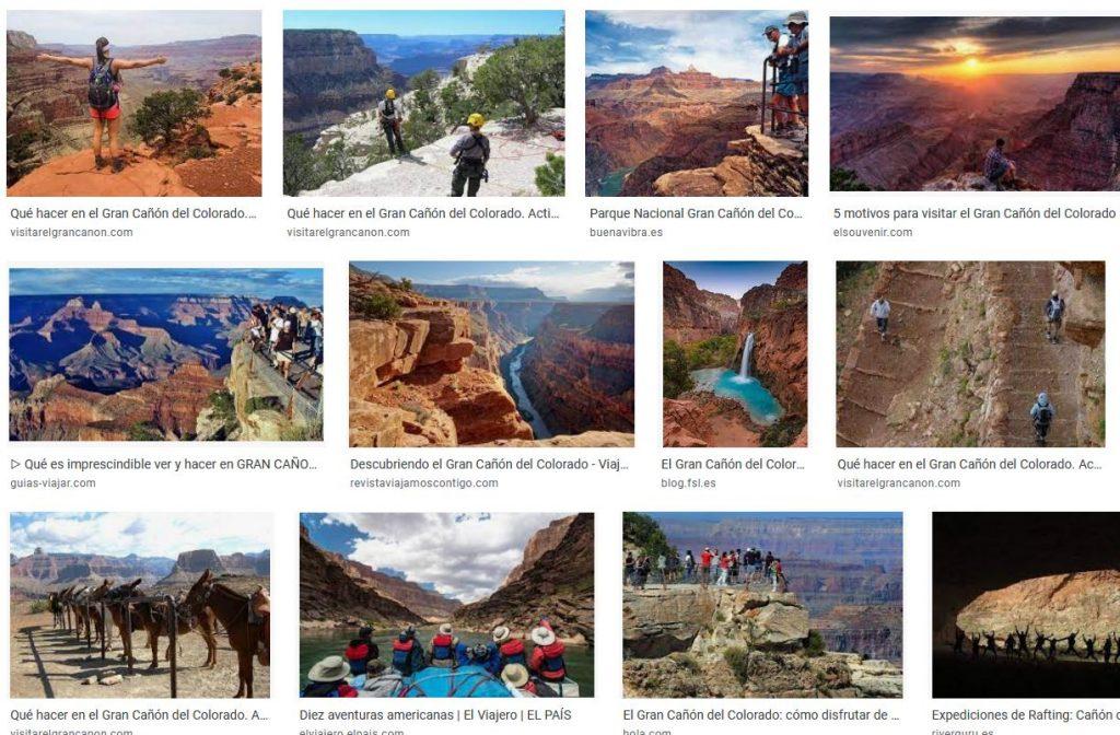 cañon colorado turismo aventura