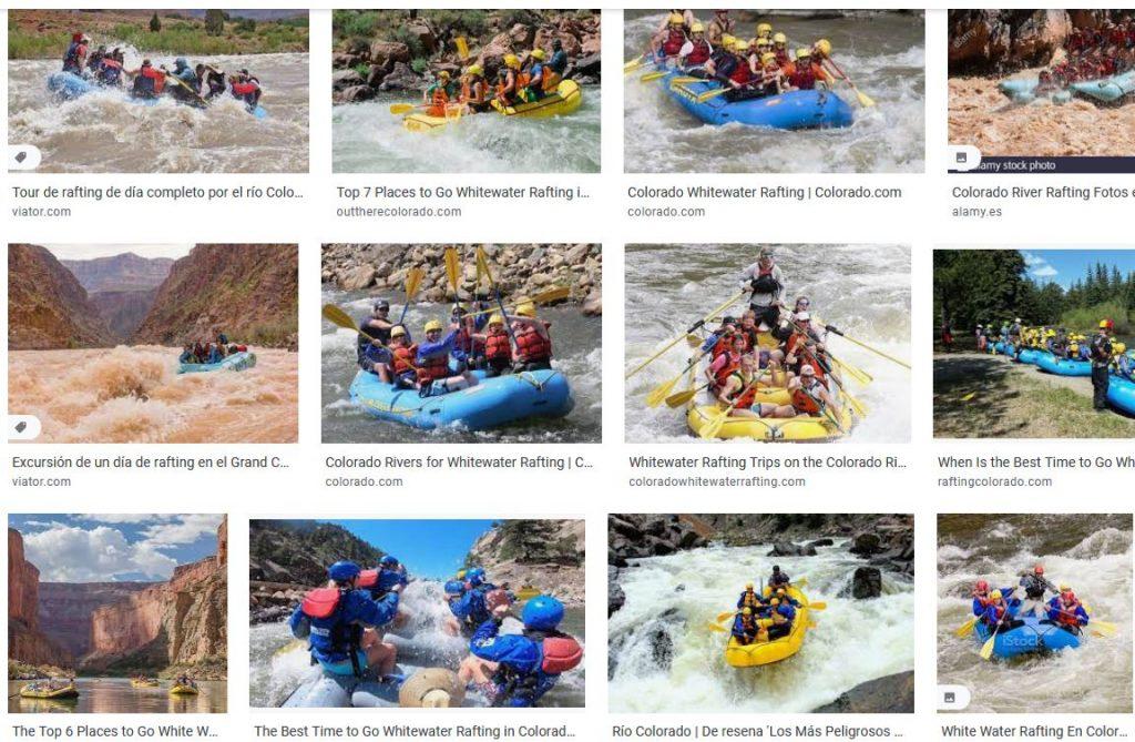 rafting colorado mejores viajes